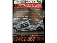 24/7 RECOVERY BREAKDOWN CAR TRANSPORTATION SERVICES