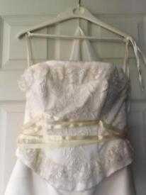 Wedding dress size small
