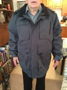 Men's Winter Coat Shell