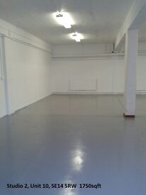 Unit 10, South Bermondsey: Studios for Businesses, Creative Space, Small Office, Desk Spaces