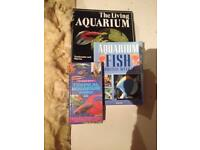 Tropical fish reference books