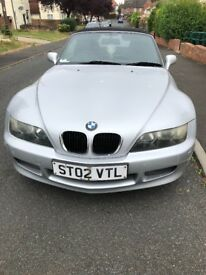 BMW Z3 silver, Contact 07543603131 for info
