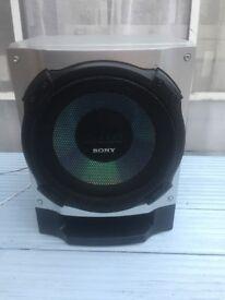 Sony Sub Woofer Model SS-WG590SBG Passive Speaker Silver Sperbass