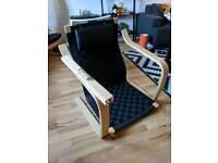 Ikea Poang single chair.