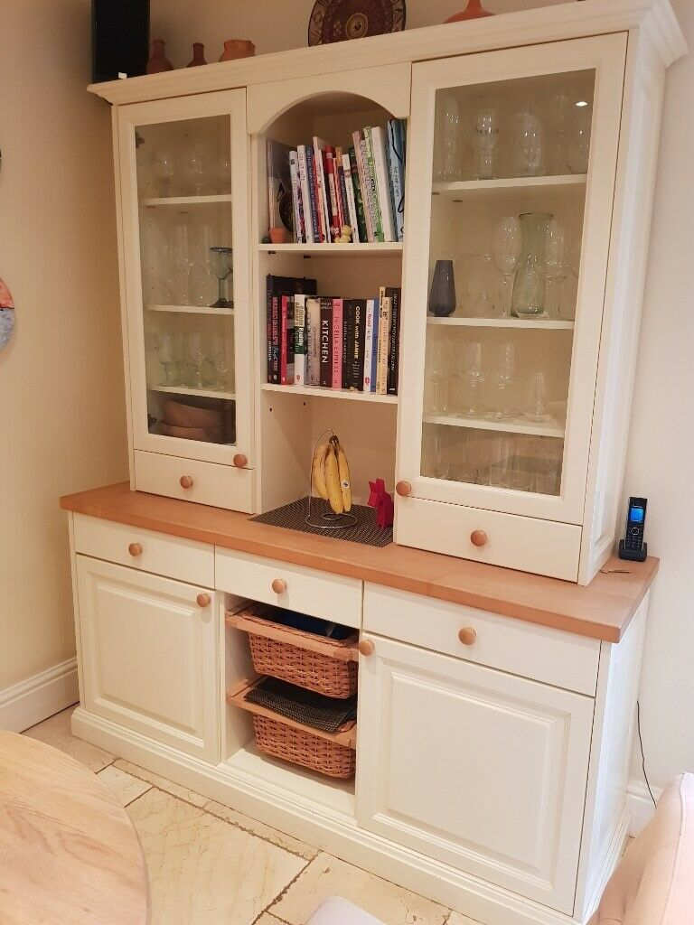 very large bespoke boulevard kitchen dresser cupboards