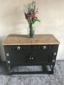 Antique Old Charm Small Sideboard