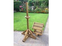 Handmade Wooden Bird Table
