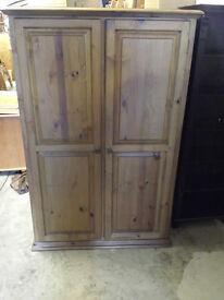 mexican pine wardrobe H 183 W 120 D 55 cm. 65 pound. newry .