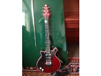 left handed brian may guitar