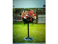 Easyfill hanging basket with stand