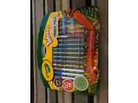 Crayola Twistables pen set and boys play mat new unopened