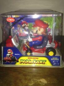 Mario & Yoshi remote control cars