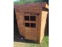 Brand new 4x4 wooden play house