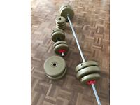 Weight bar & weights
