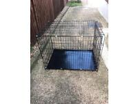 Large dog crate £30 ONO