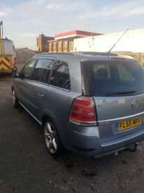 VOUXHALL ZAFIRA 1.9 CDTI MOD 2006 MANUAL WITH TOWBAR