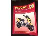Peugeot Speedfight manual