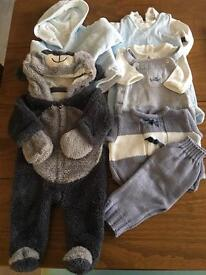 Baby Boy Clothing Bundle (newborn - 1 month) Baby boutique brands