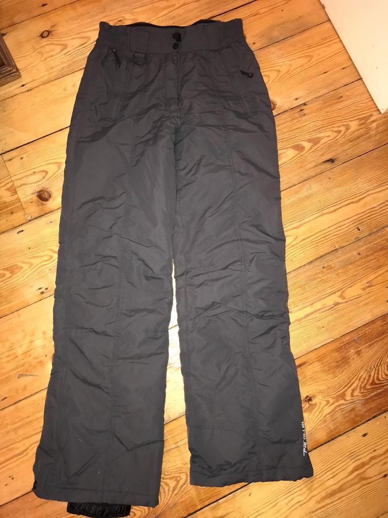 Women's size 10 ski trousers/salopettes/hiking trousers