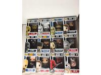 Bundle of 12 Star Wars pop figures