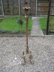 Retro Iron lamp Standard