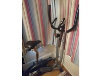 V-Fit 2-in-1 Magnetic Cycle and Elliptical Trainer, excellent condition!