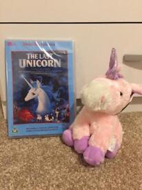 Unicorn DVD And toy