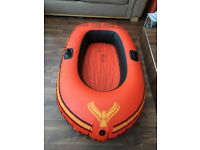 Intex Explorer 100 inflatable rubber dinghy/boat