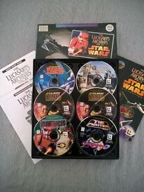 STAR WARS 'LUCASARTS ARCHIVES' CLASSIC PC GAMES