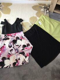 Ladies skirts and dress