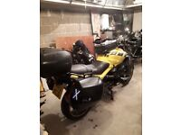 2002 BMW R1150R FULL TOURING ACCESSORIES INCLUDED WITH RECENT MOT .