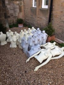 Mannequins for sale. Different types.