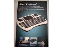 2.4G Wireless Mini Keyboard Fly Air Mouse Qwerty Touchpad for Android TV BOX PC
