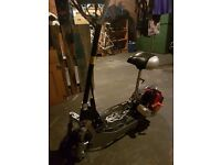 25cc 2 stroke petrol scooter. Excellent condition hardly used. Can do 40 MPH.