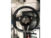 Seat leon fr steering wheel flat bottom