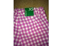 Girl's Benetton trousers - xtra small