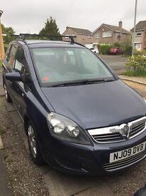 2009 Vauxhall Zafira 1.6 Life