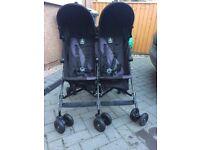Maclaren Twin Triumph double pushchair