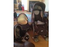 Chico 3in1 Pram and travel system