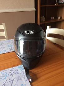 AGV k5 matte black helmet