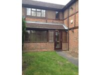 Furnished double bedroom in a five bedroom detached house