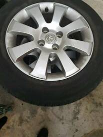 Alloys + New Tyres