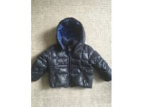 Boys Blue Genuine Papermoon Jacket Age 2 - 3 - Excellent Condition - Childrens Kids Clothes