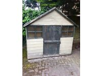 Wooden Wendy House ( Child's play house)