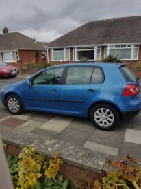 VW Golf 1.6 FSI 5 Door LOW MILES 98K Cruise control MOT March 19 Comp Service history