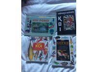 Japanese koi books and DVD