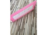 Tomy bed guard ( pink)