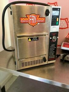 Perfect fry semi automatic Hoodless deep fryer - free shipping