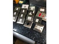 240v electrical switches and sockets