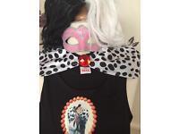 Children's fancy dress Cruella de vil